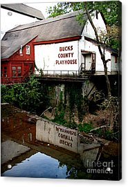 Bc Playhouse Acrylic Print by Colleen Kammerer