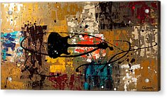 Be A Rock Star Acrylic Print by Carmen Guedez