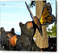 Acrylic Print featuring the photograph Be Careful Son by Rhonda McDougall