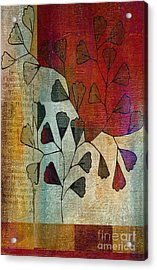 Be-leaf - 134124167-bl22t1 Acrylic Print by Variance Collections