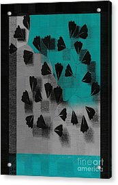 Be-leaf - J53036152 Acrylic Print by Variance Collections