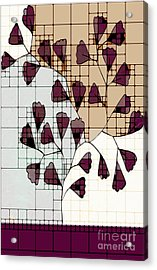 Be-leaf - Prune 01-ab103b Acrylic Print by Variance Collections