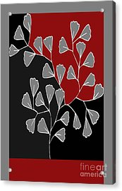Be-leaf - Rb01btfr2 Acrylic Print by Variance Collections