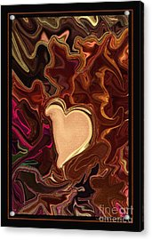 Be Mine By Steven Langston Acrylic Print by Steven Lebron Langston
