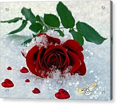 Be Mine Acrylic Print by Morag Bates