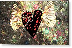 Acrylic Print featuring the photograph Be My Valentine by Ally  White