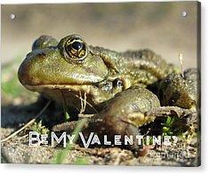 Be My Valentine Acrylic Print by Ausra Huntington nee Paulauskaite