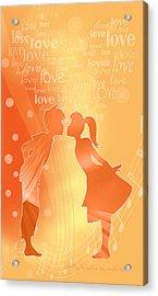 Be My Valentine Acrylic Print by Gayle Odsather