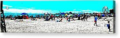 Beach And Carnival Acrylic Print