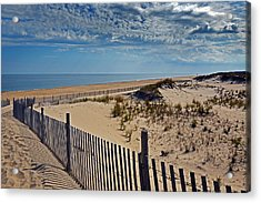 Beach At Cape Henlopen Acrylic Print