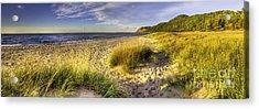 Beach At Esch Road Acrylic Print