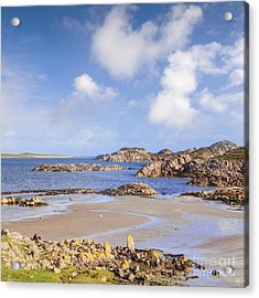 Beach At Fionnphort Mull Scotland Acrylic Print by Colin and Linda McKie