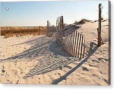 Beach At Lbi Acrylic Print