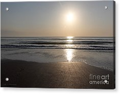 Beach At Sunrise Acrylic Print