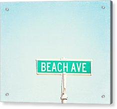 Beach Ave. Acrylic Print