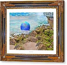 Beach Ball Dreamland Acrylic Print by Betsy C Knapp