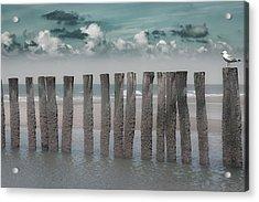 Beach Bars Acrylic Print
