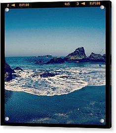 #beach #beautiful #water #waves #nature Acrylic Print