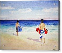 Beach Boys Australia Acrylic Print