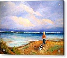 Beach Buddies Acrylic Print