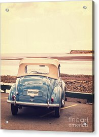 Beach Bum Acrylic Print by Edward Fielding