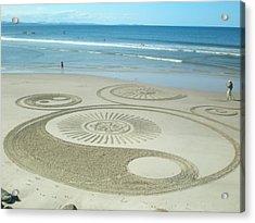 Beach - Byron Bay 2012 Acrylic Print