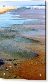 Beach Colors Acrylic Print