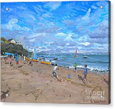 Beach Cricket Acrylic Print