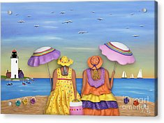 Beach Date Acrylic Print