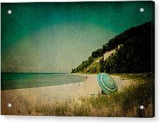 Beach Day Acrylic Print by Olivia StClaire