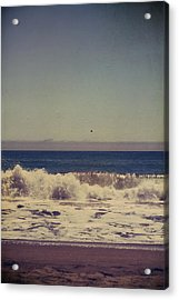 Beach Days Acrylic Print by Laurie Search
