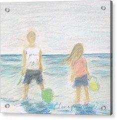 Beach Dreams Acrylic Print by E Carrington