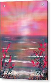 Beach Dreams Acrylic Print by Judy Via-Wolff