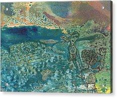 Beach Friends Flotsam And Jetsam Acrylic Print