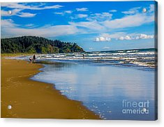 Beach Fun  Acrylic Print by Robert Bales