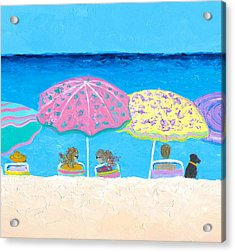 Beach Gossip Acrylic Print