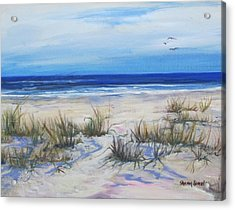 Beach Grasses Acrylic Print
