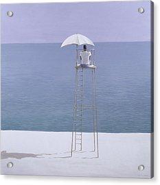 Beach Guard Acrylic Print