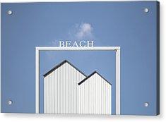 Beach. Acrylic Print