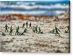Beach Head Acrylic Print