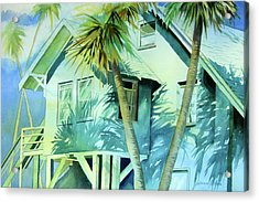 Beach Cottage Acrylic Print