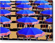 Beach In Riccione, Italian Adria, Italy Acrylic Print