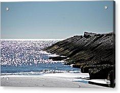 Beach Jetty Acrylic Print
