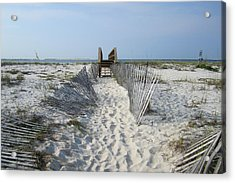 Acrylic Print featuring the photograph Beach by Jon Emery