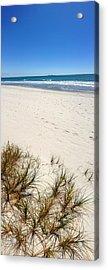 Beach Acrylic Print by Les Cunliffe