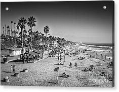 Acrylic Print featuring the photograph Beach Life From Yesteryear by John Wadleigh