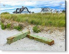 Beach Living In Maine Acrylic Print