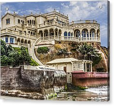 00003 La Jolla Beach Mansion Acrylic Print