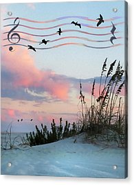 Beach Music Acrylic Print