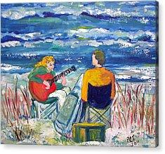 Beach Music Acrylic Print by Patricia Taylor